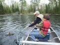 Walleye Fishing at the Lake